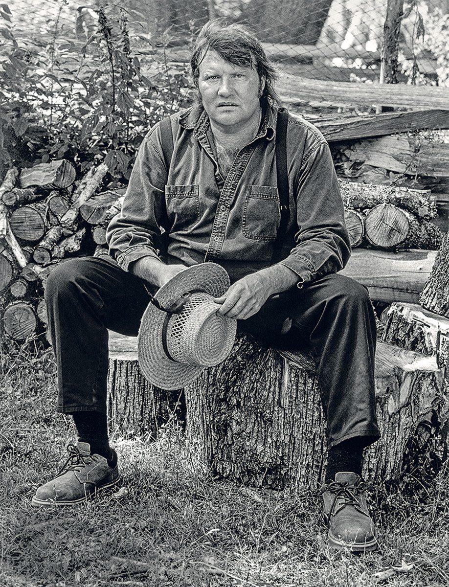 Brian Brett on Salt Spring Island, 2005