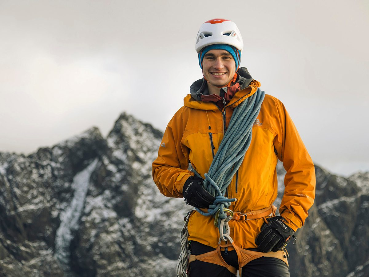Good news - hero mountaineer