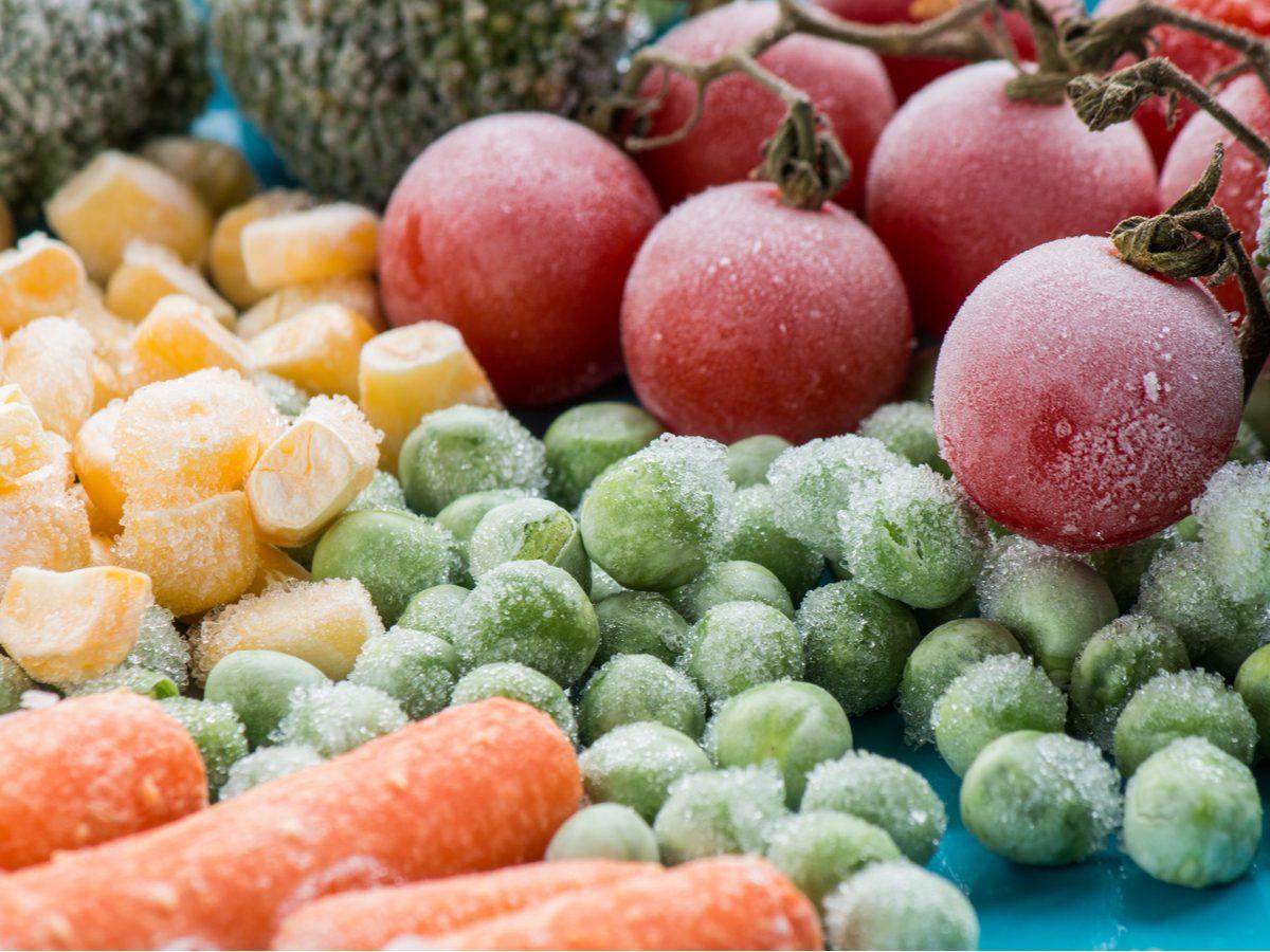 Freeze food/vegetables