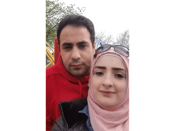 Marwa and Salem - Syrian refugees who now live in Victoria