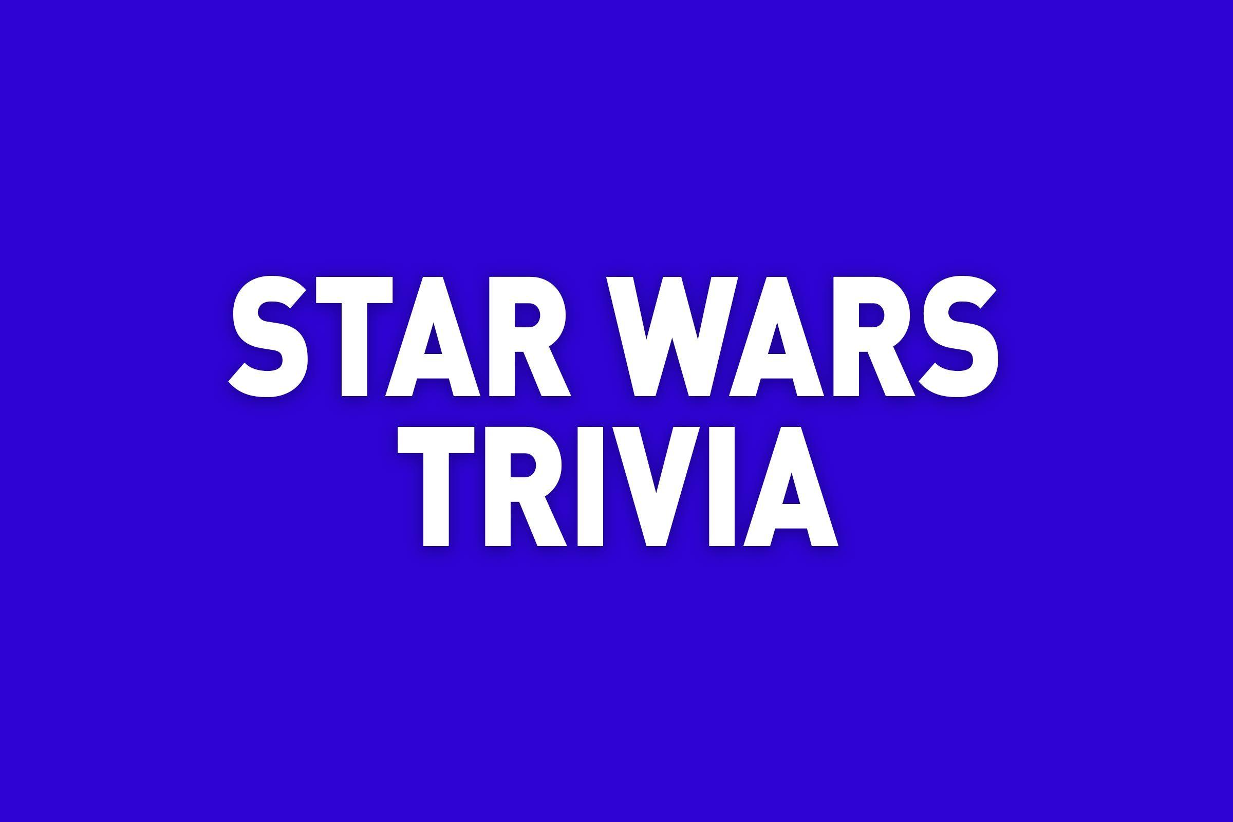 star wars trivia jeopardy category