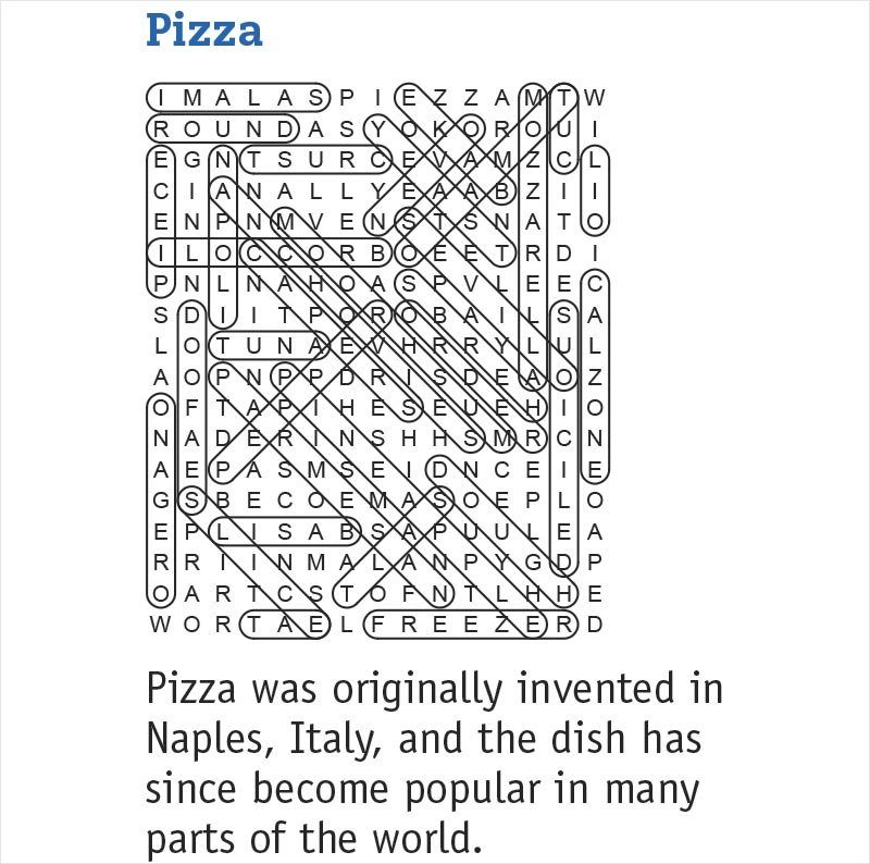 pizza answers