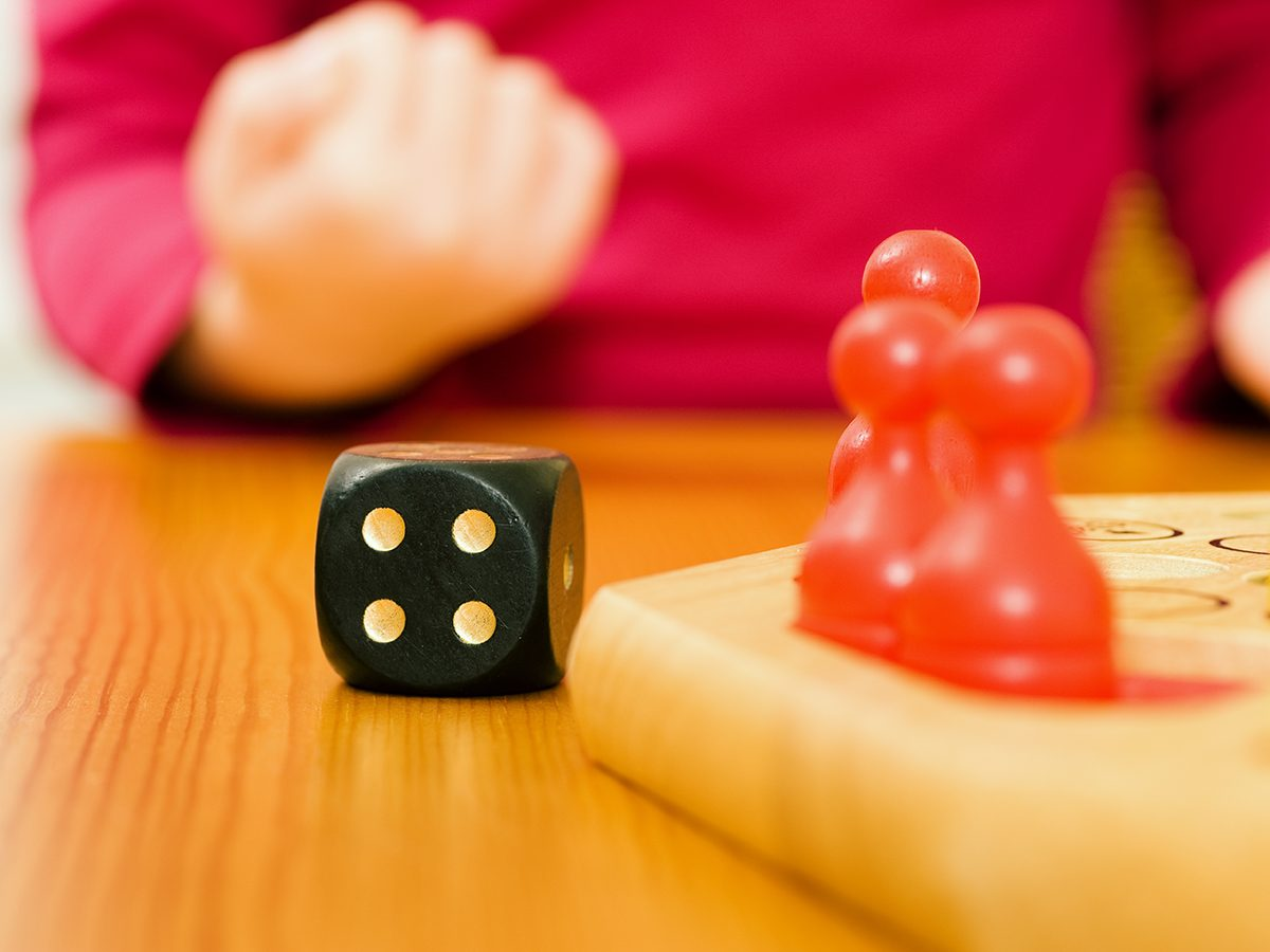 Quarantine activities for kids - rolling dice