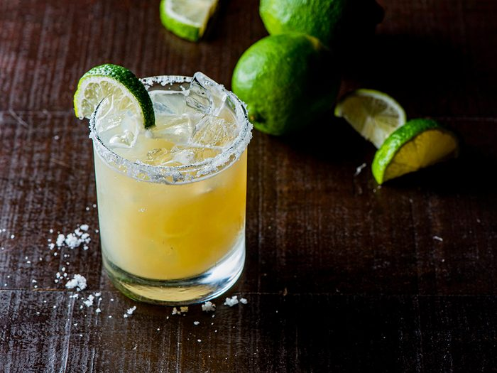 Spicy cilantro margarita - Nickel 9 Distillery
