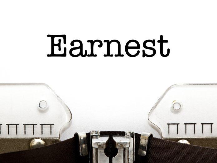 Earnest