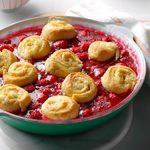 Lemon Whirligigs with Raspberries