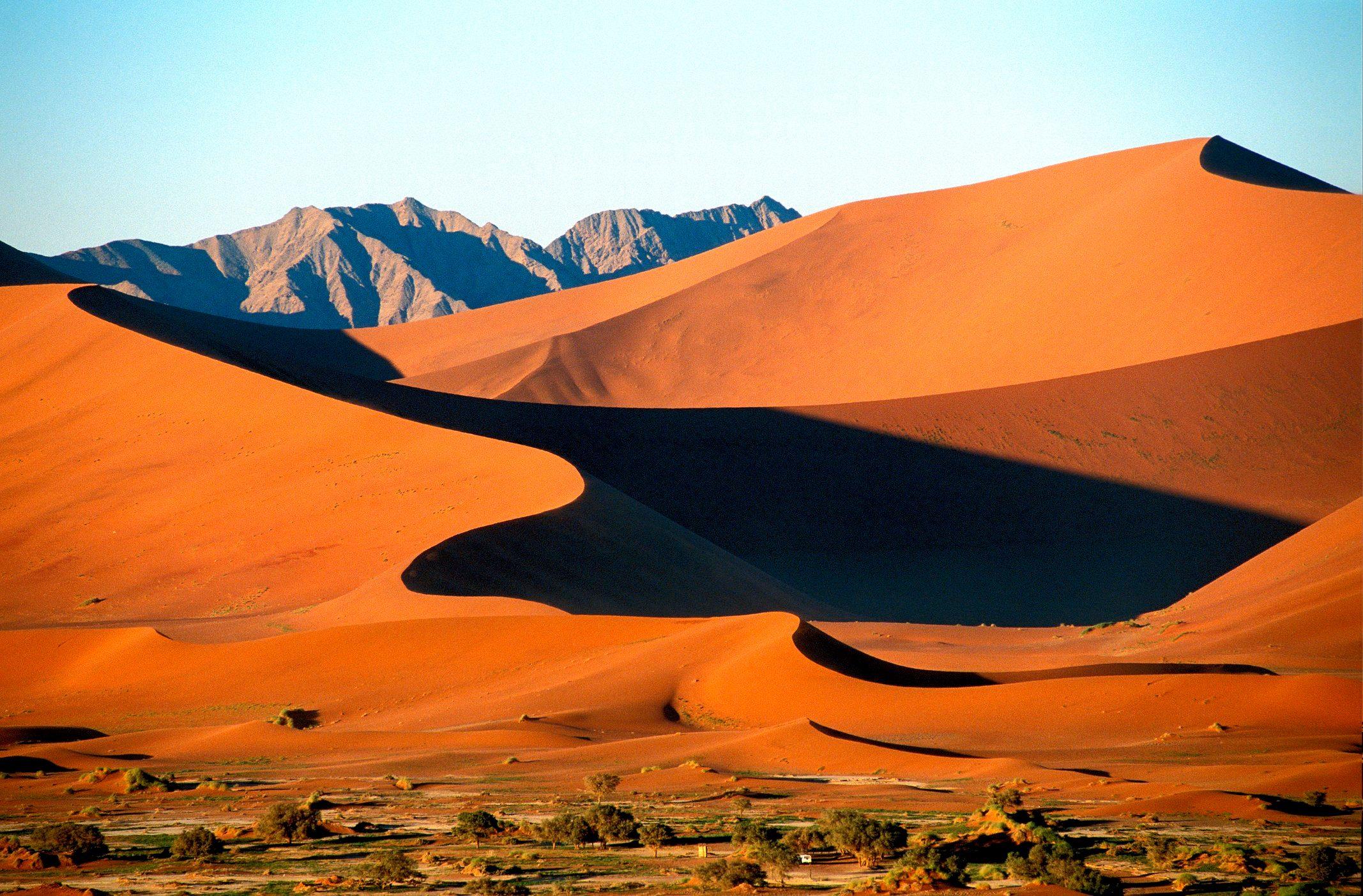Sossusvlei Dunes in the Namib Desert