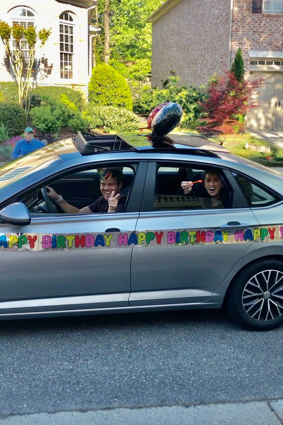 birthday drive by parade