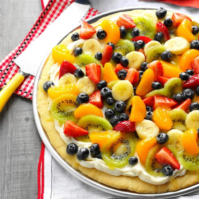 Summer Dessert Pizza recipe