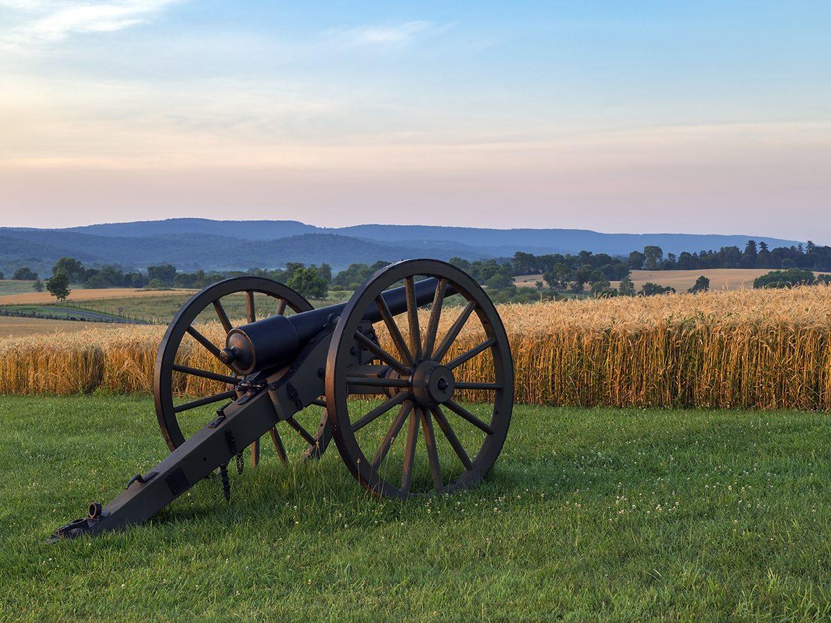 Battle of Antietam site in Maryland