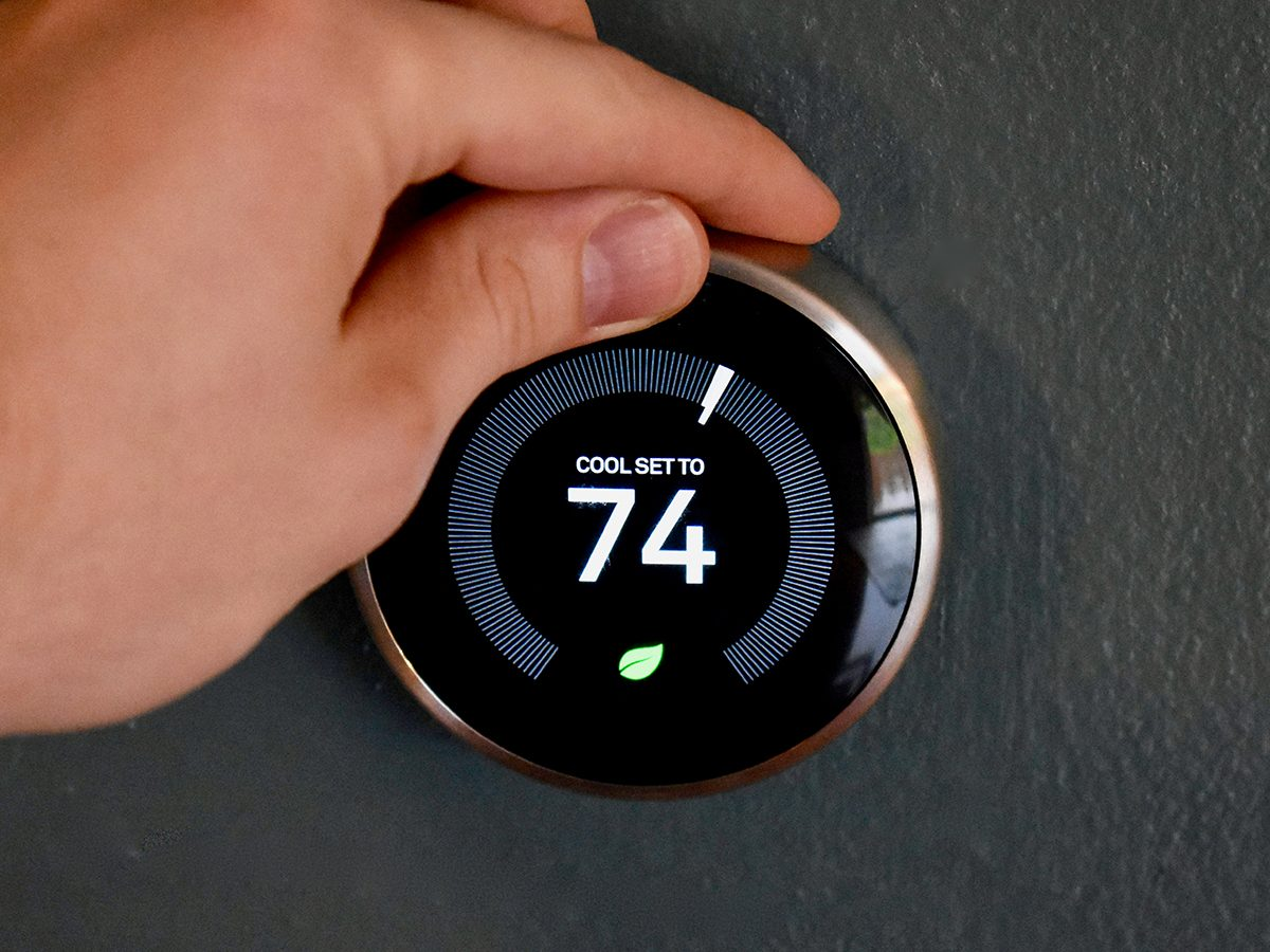 Beat summer heat - setting thermostat