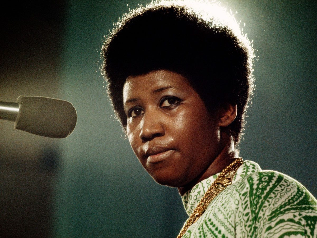 Concert films: Aretha Franklin in Amazing Grace