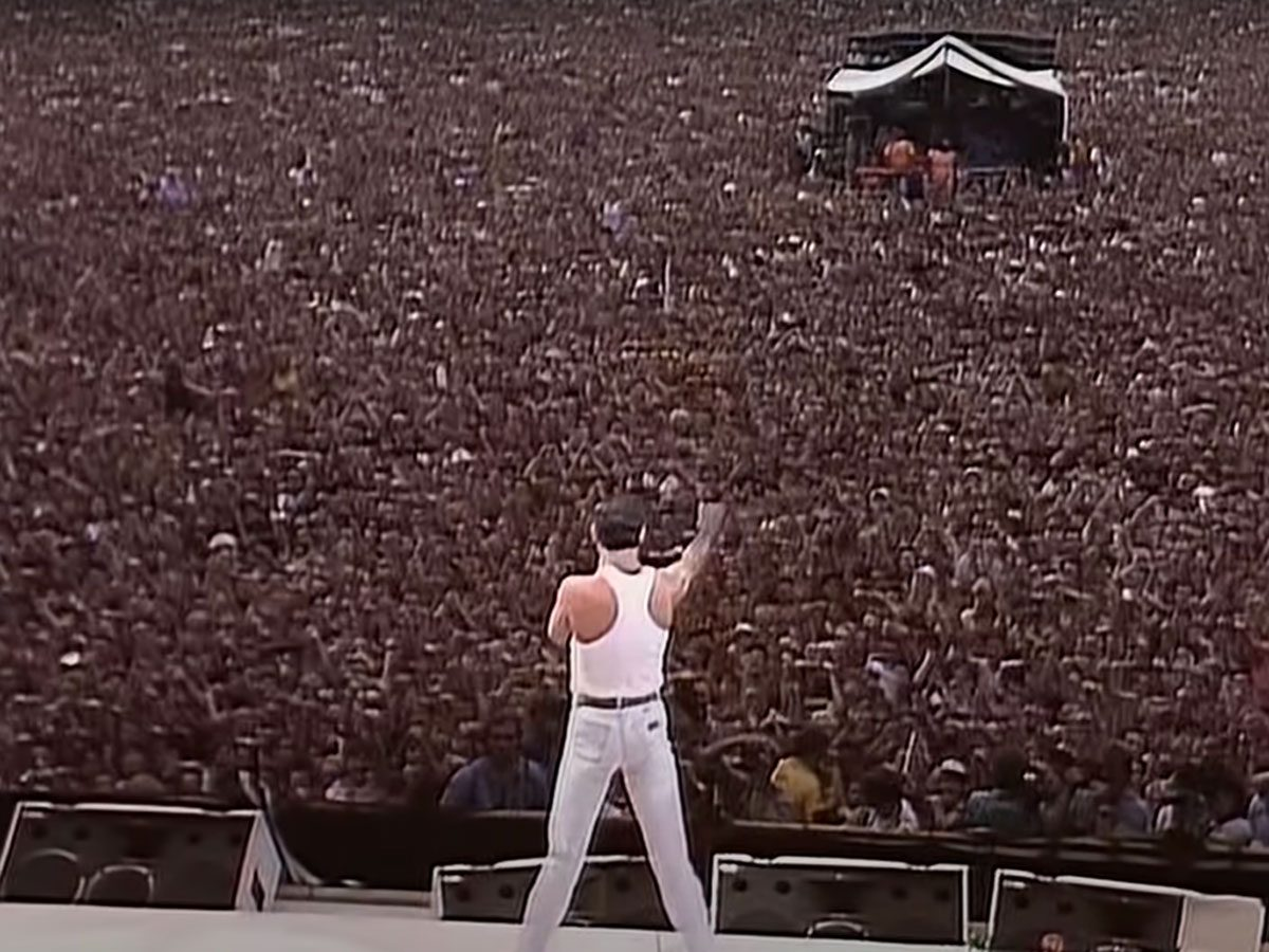 Concert films: Queen at Live Aid 1985