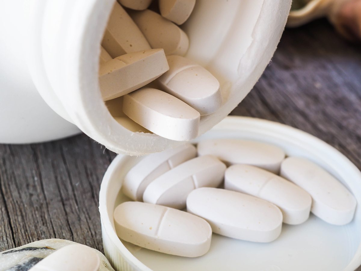Calcium supplement should be taken with food