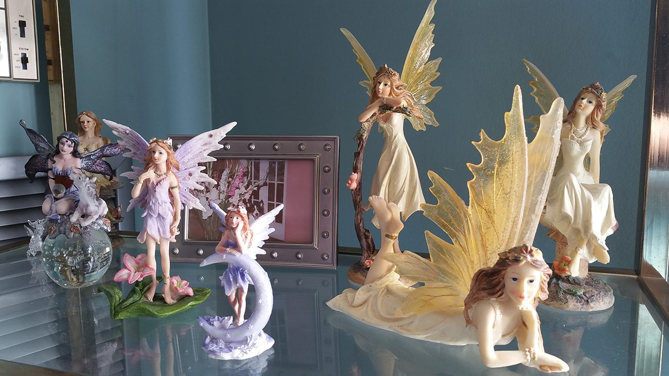 Fairies shelfie