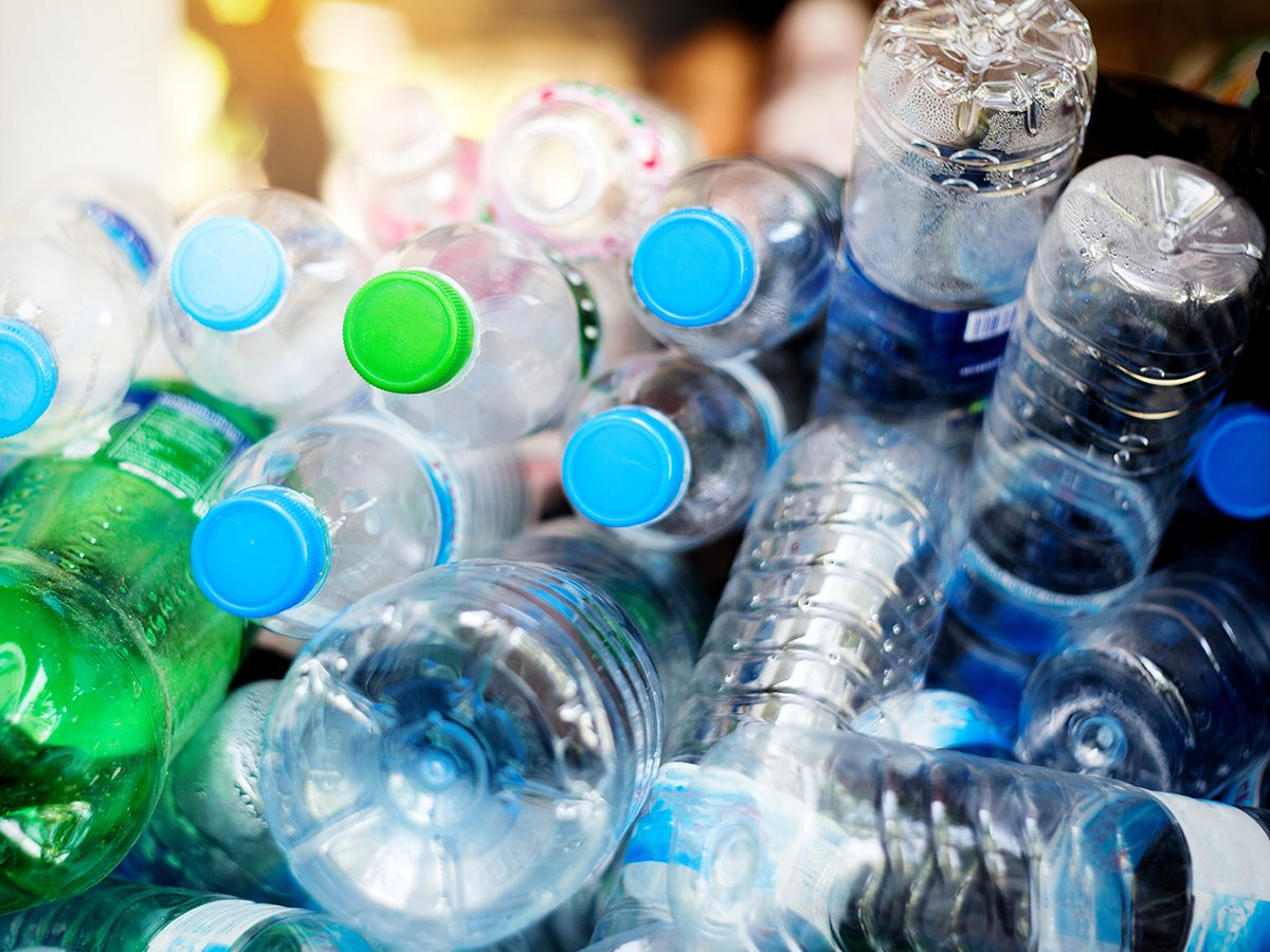 Good news - plastic bottles for recycling