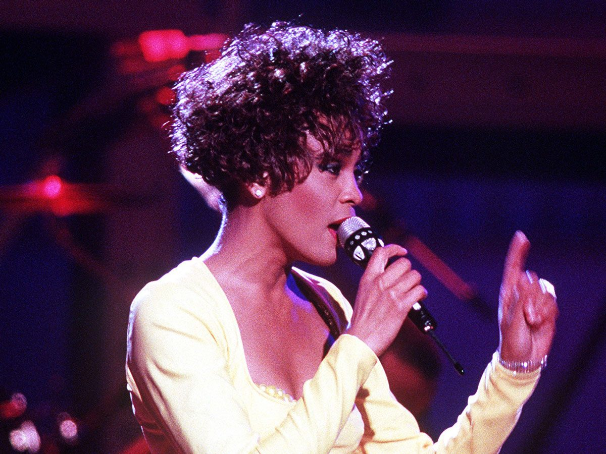 Most popular song: Whitney Houston