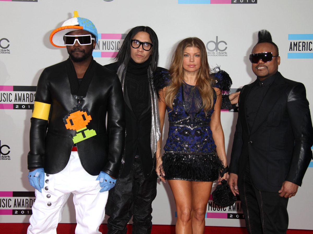Most popular song: The Black Eyed Peas