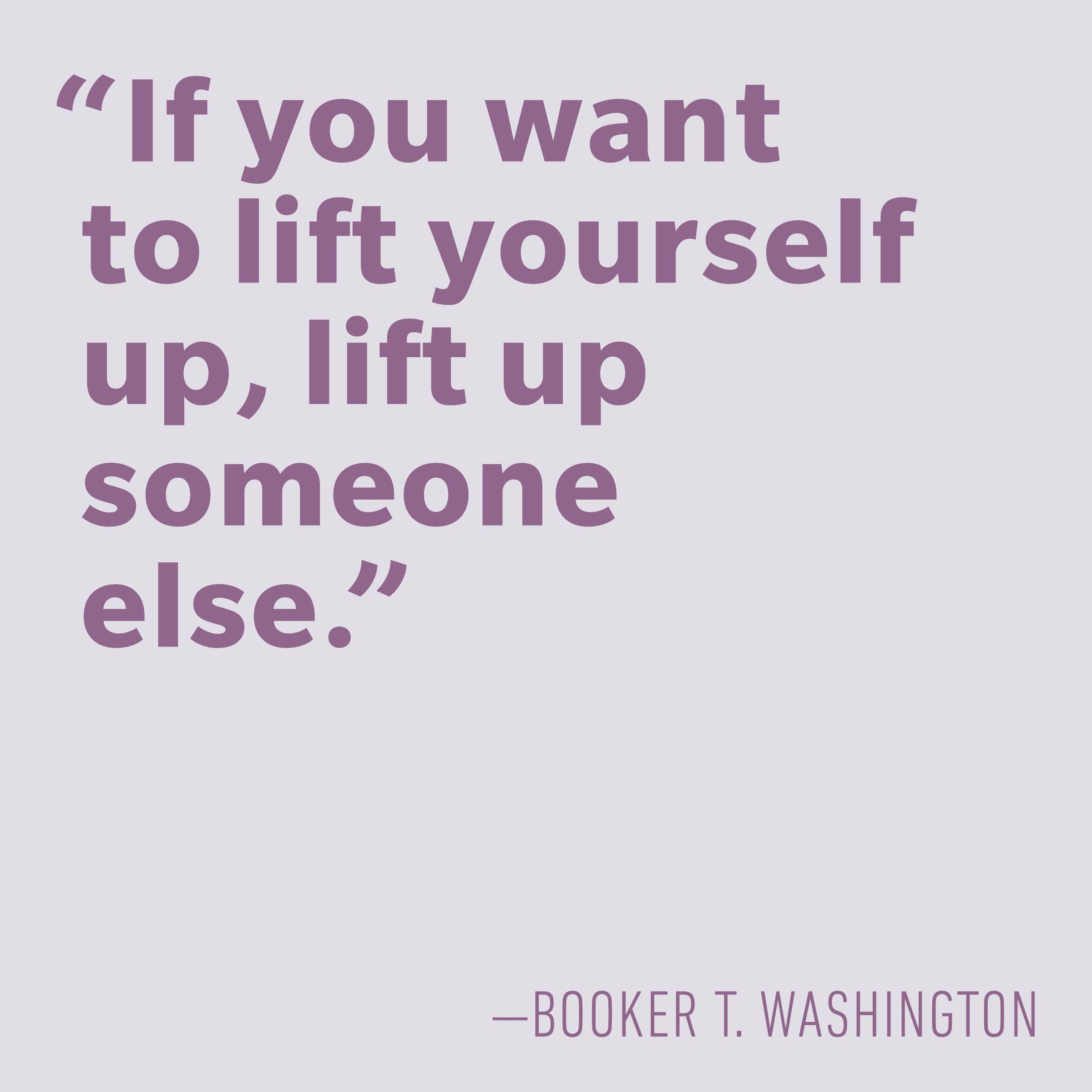Motivational quotes - Booker T. Washington