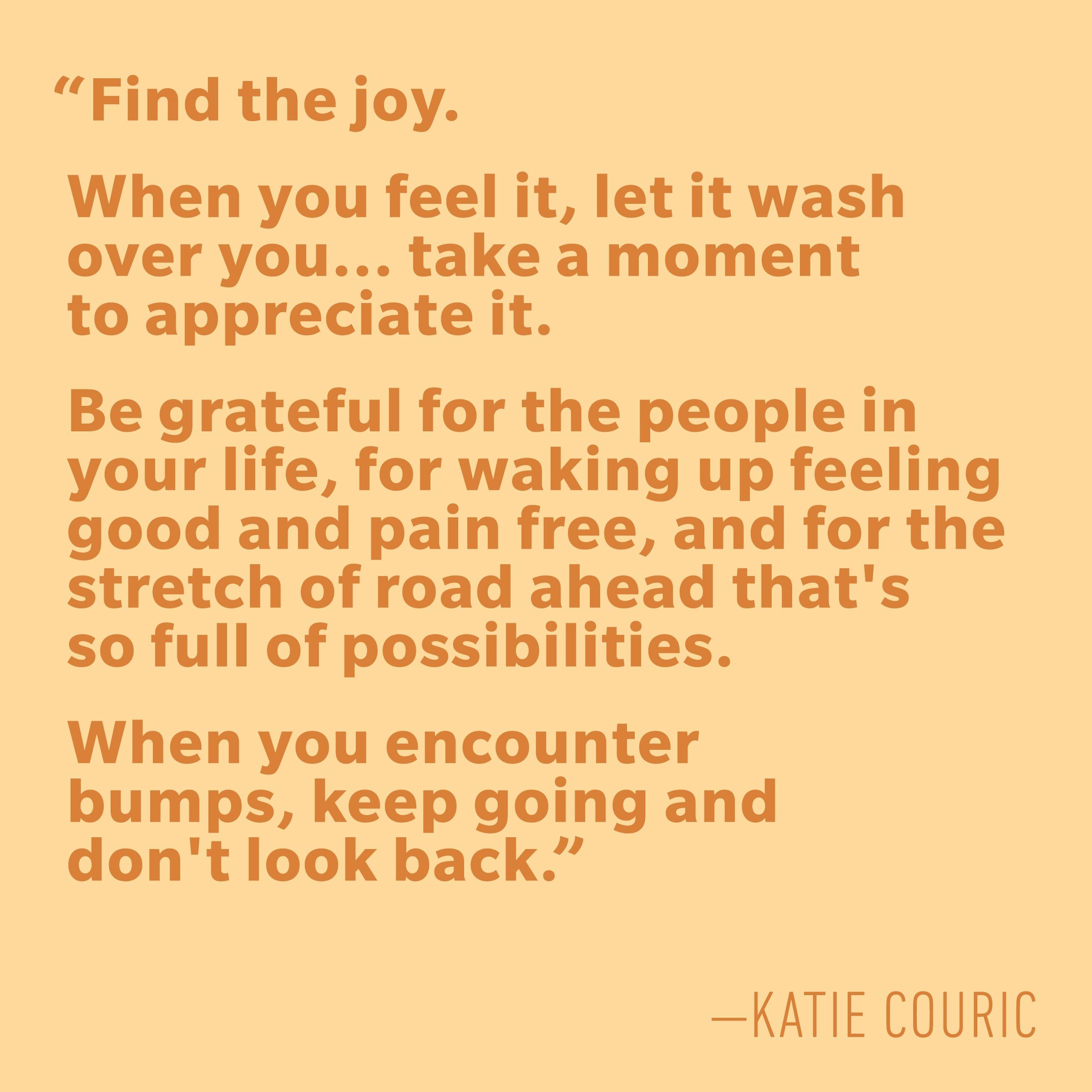 Motivational quotes - Katie Couric
