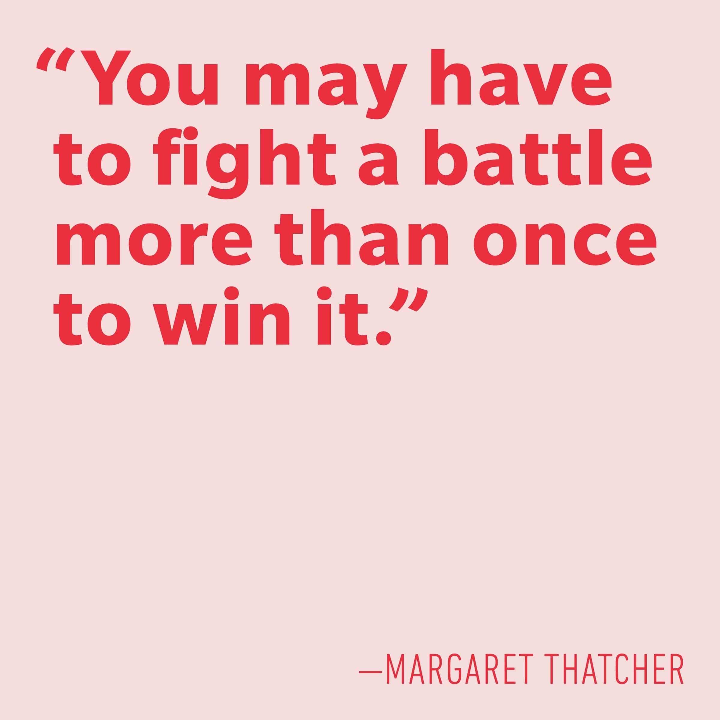 Motivational quotes - Margaret Thatcher