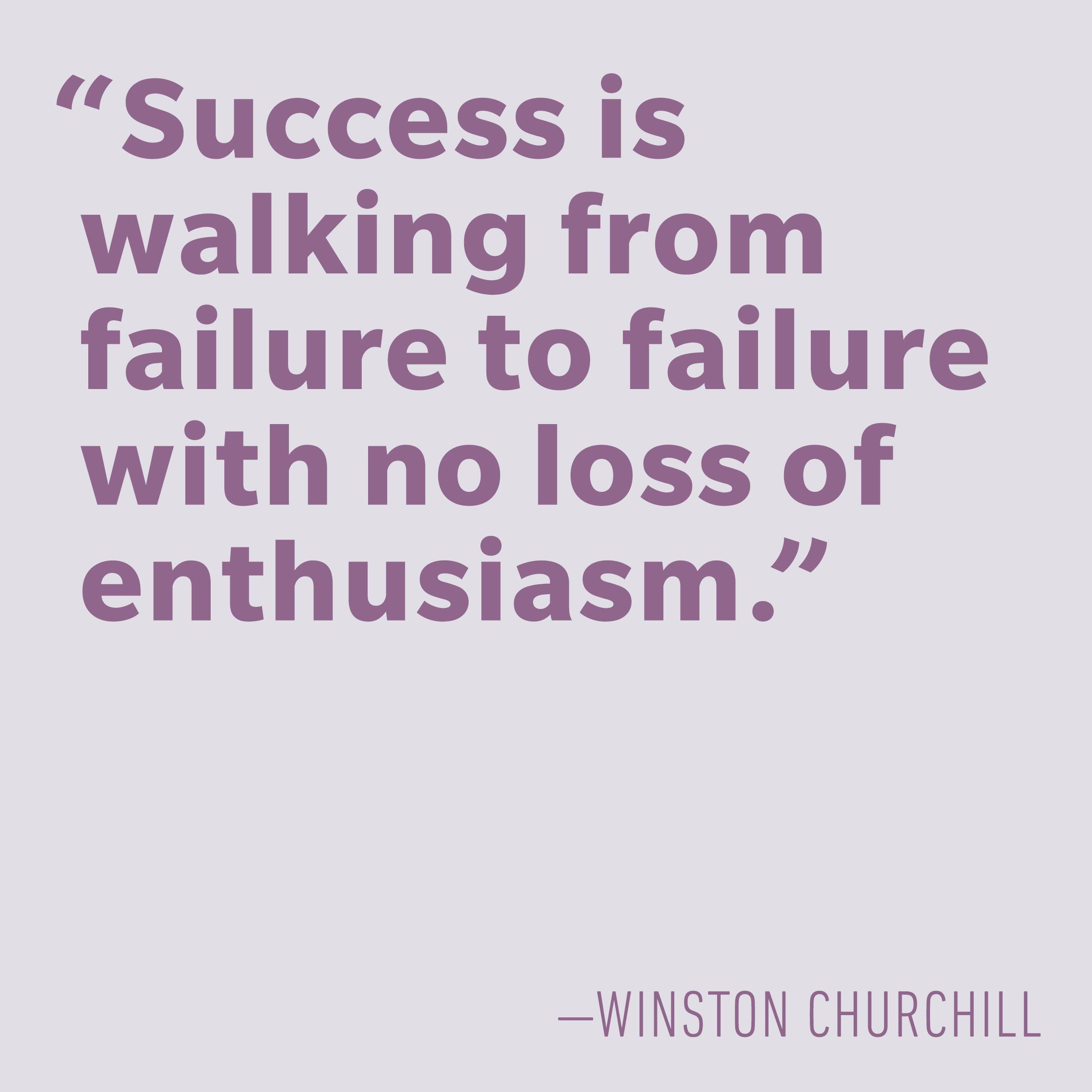 Motivational quotes - Winston Churchill