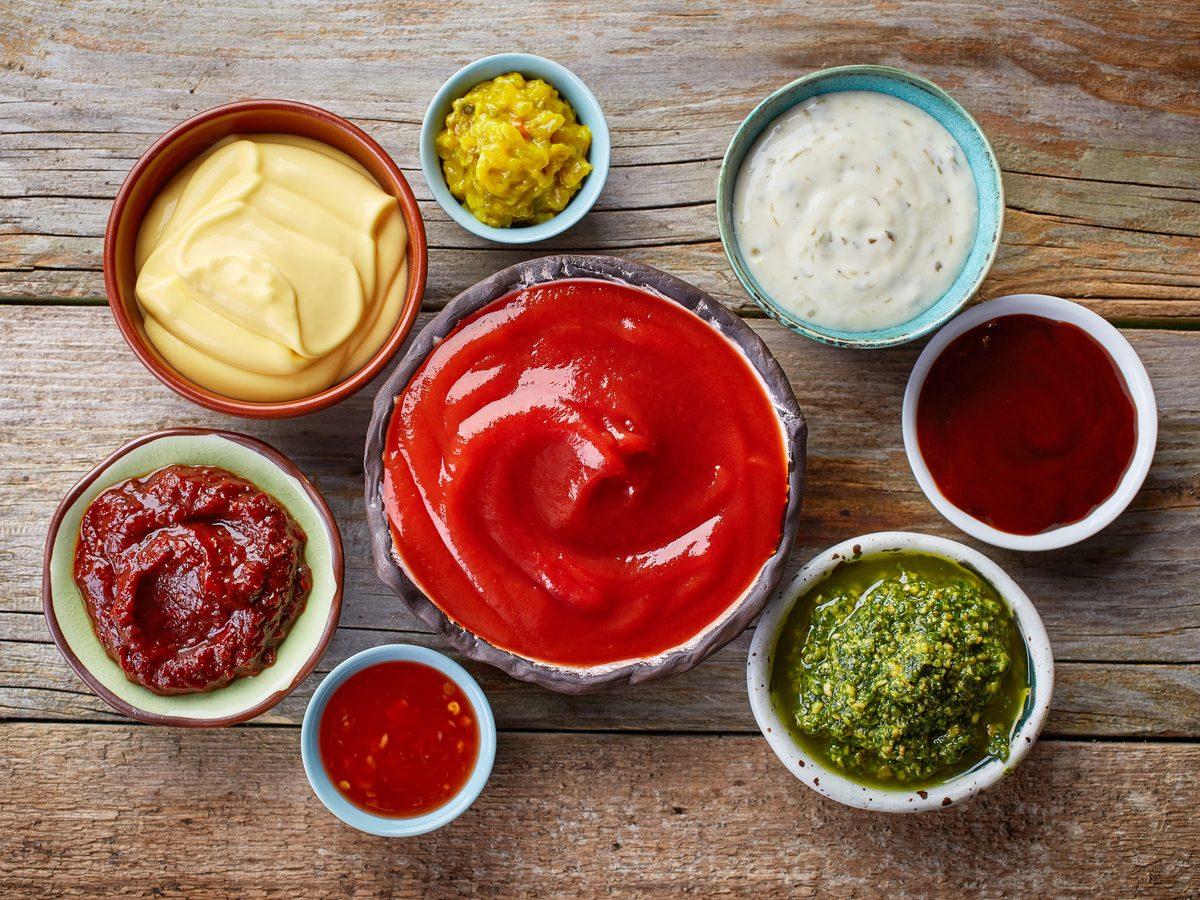Condiments and marinades