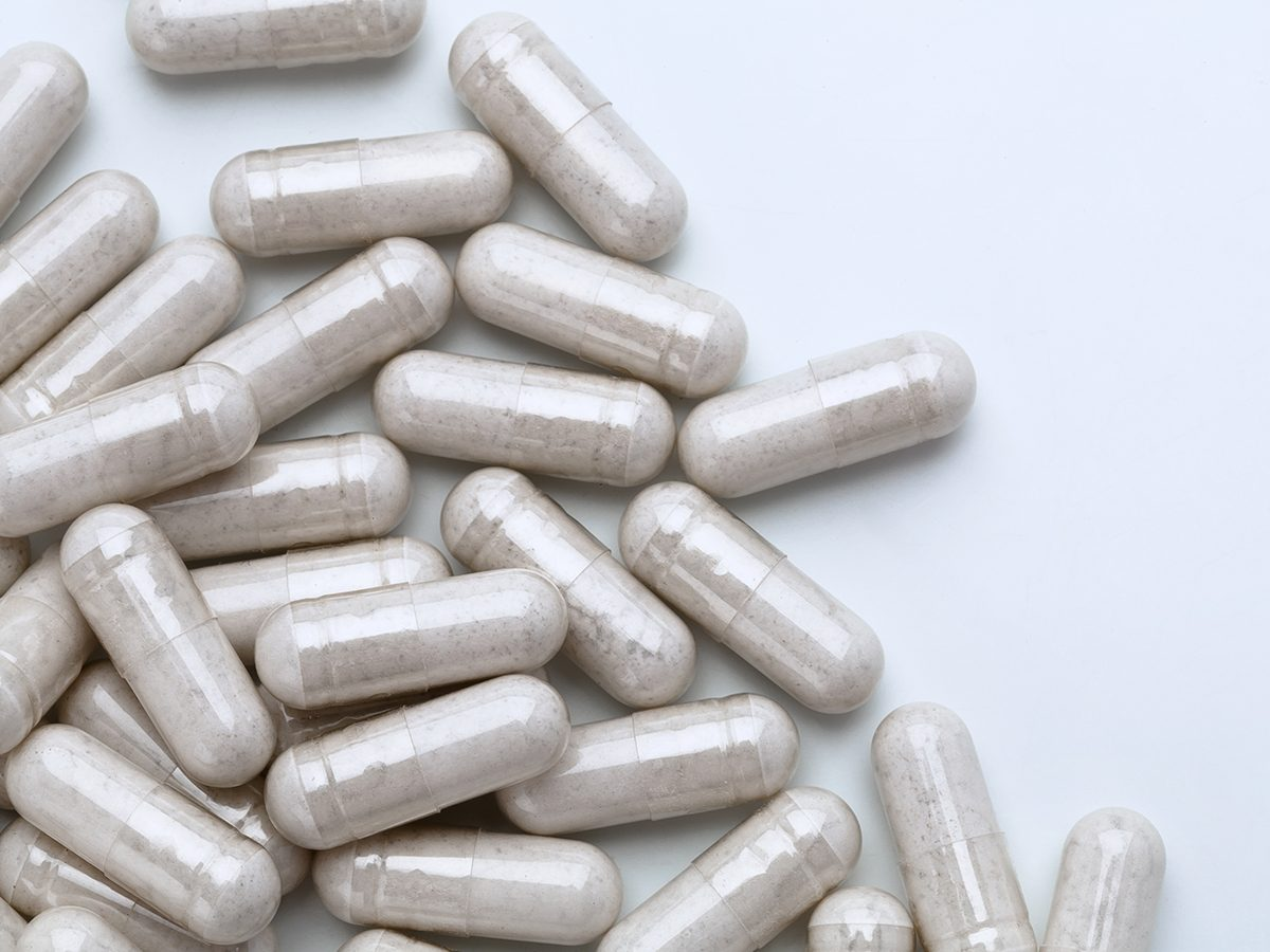 Probiotic supplements should be taken with food