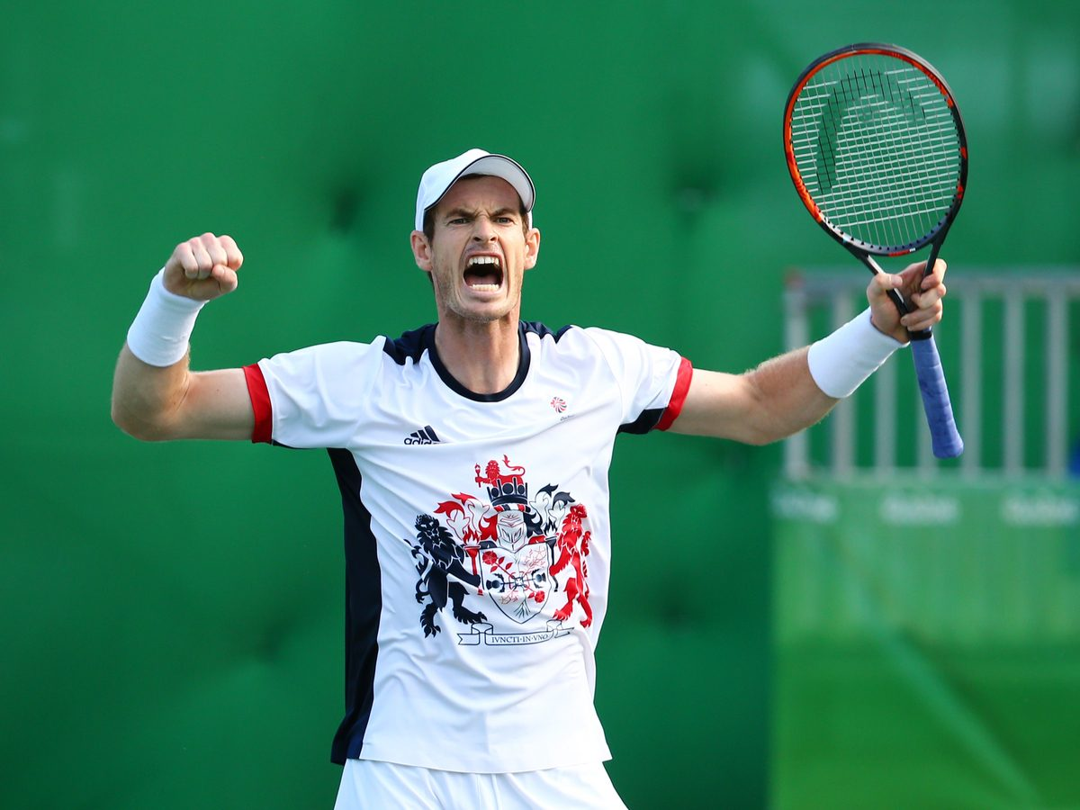 Tennis player Andy Murray