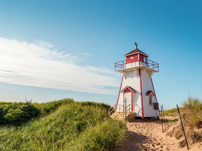 Summer Canada 2021 weather forecast - Stanhope Lighthouse PEI
