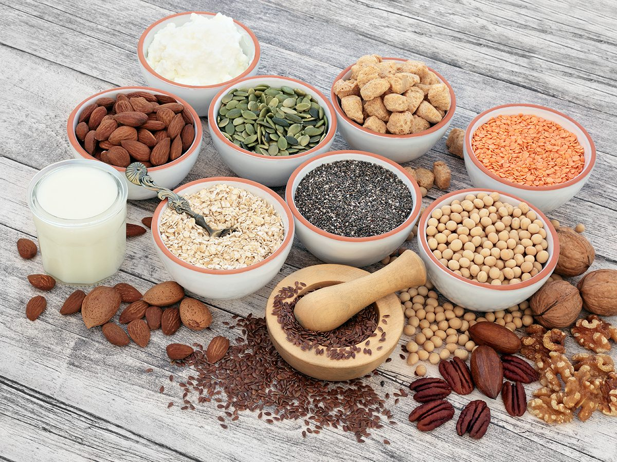 Things that slow down aging - high-fibre foods