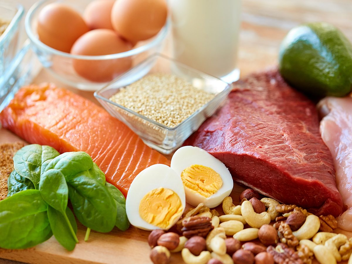 Things that slow down aging - sources of protein