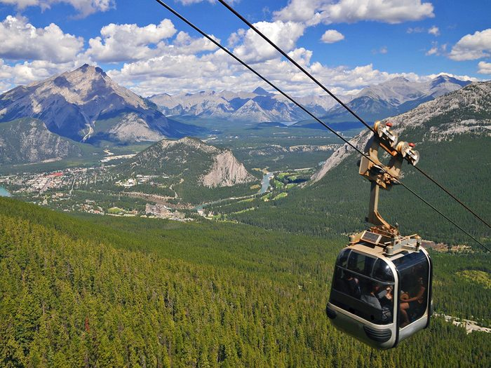 Things to do in Banff - ride the Banff Gondola