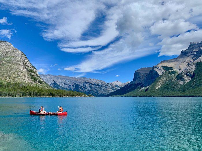 Things to do in Banff - Lake Minnewanka canoe trip