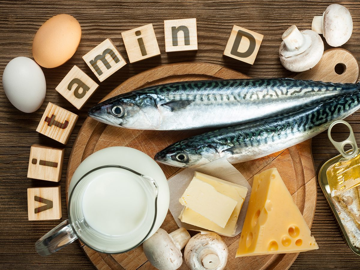 Vitamin D supplement should be taken with food