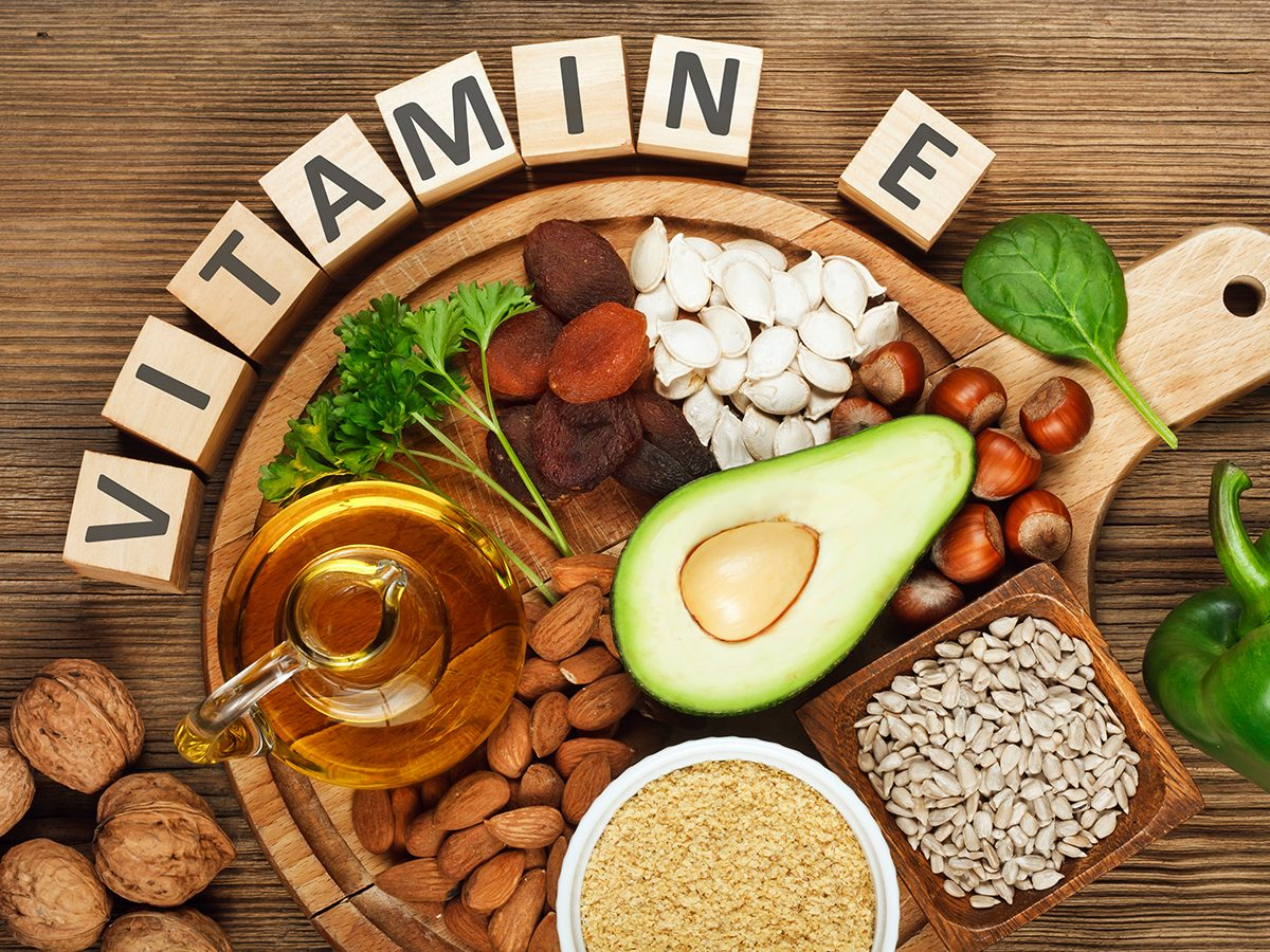 Vitamin E supplement should be taken with food