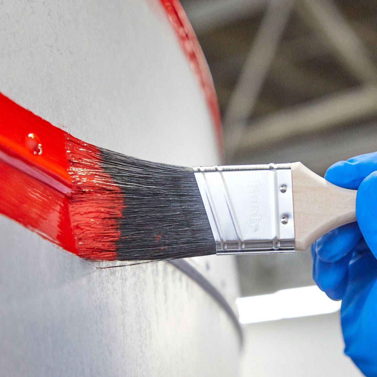 paint exterior of camper