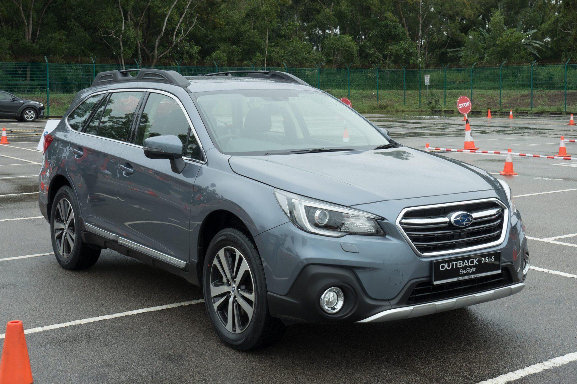 Subaru Outback 2018 Test Drive Day