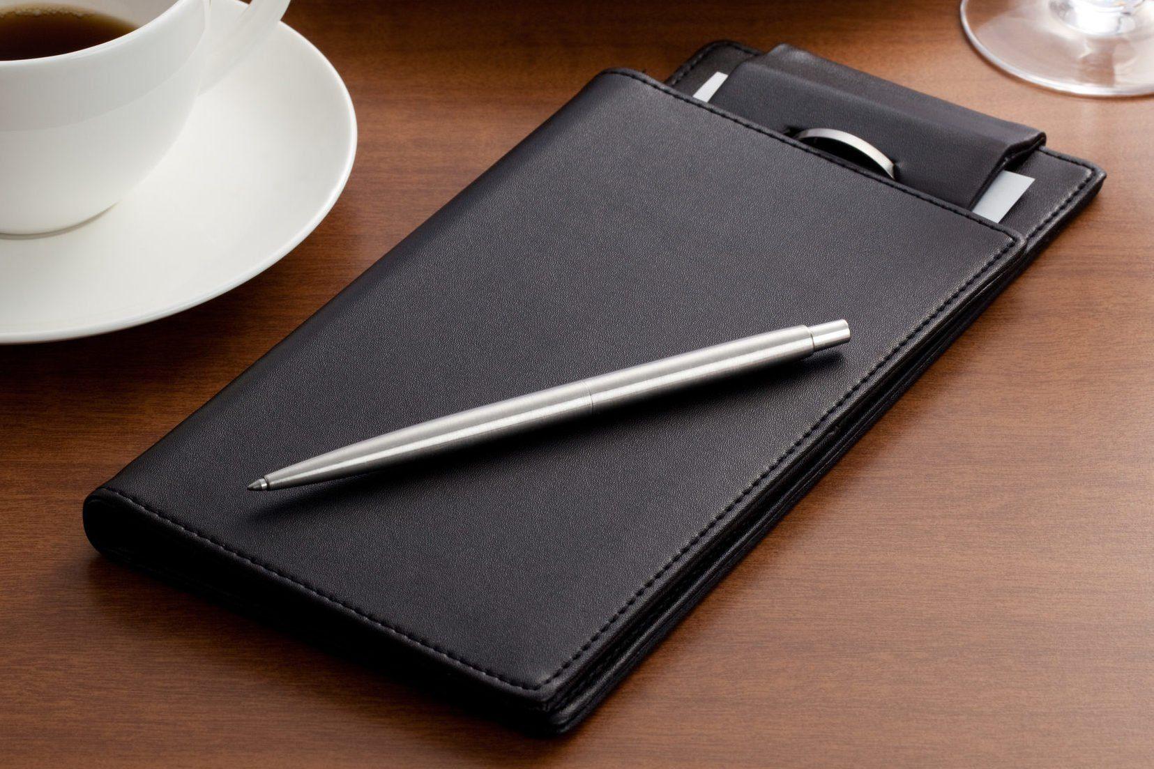 Pen & Guest check book