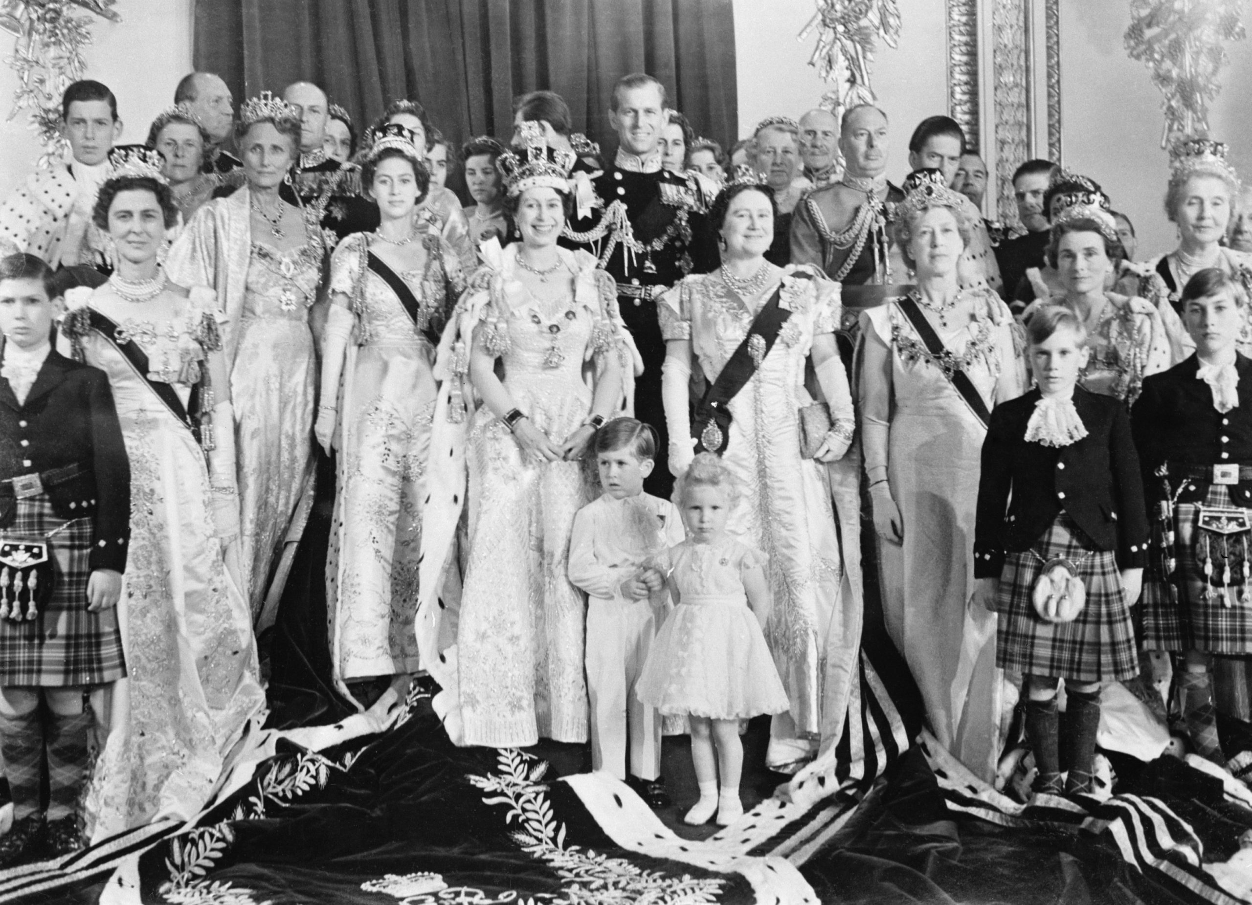 Royal family in the 1950s