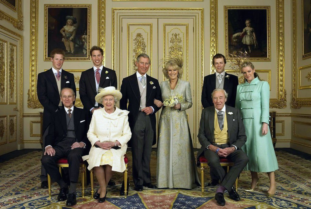 TRH Prince Charles & The Duchess Of Cornwall - Official Wedding Photo