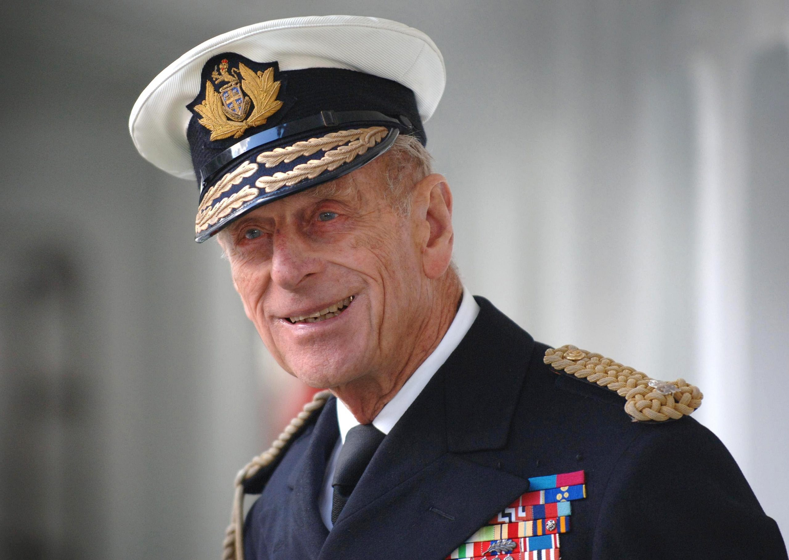 Prince Philip Visits Trinity House Vessel Galatea