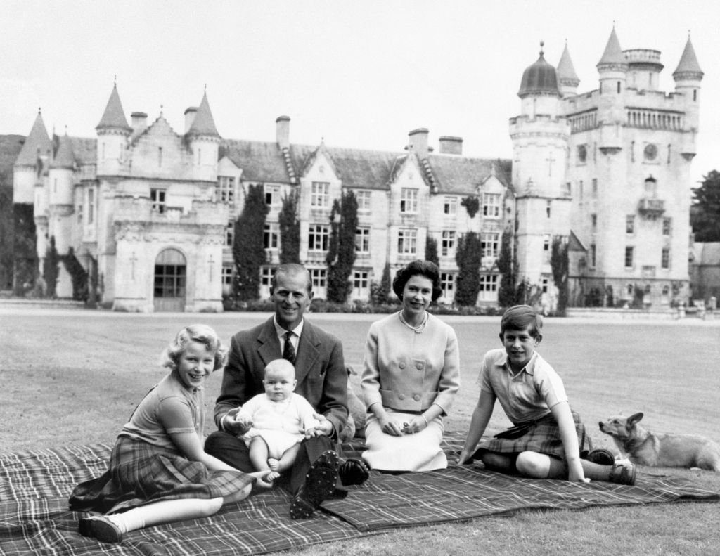 The birth of Prince Andrew at Balmoral