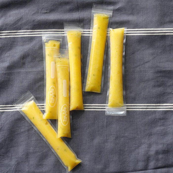 Lemon-Apricot Fruit Pops