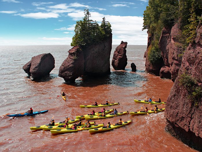 Best places to visit in Canada - Hopewell Rocks, Bay of Fundy, New Brunswick