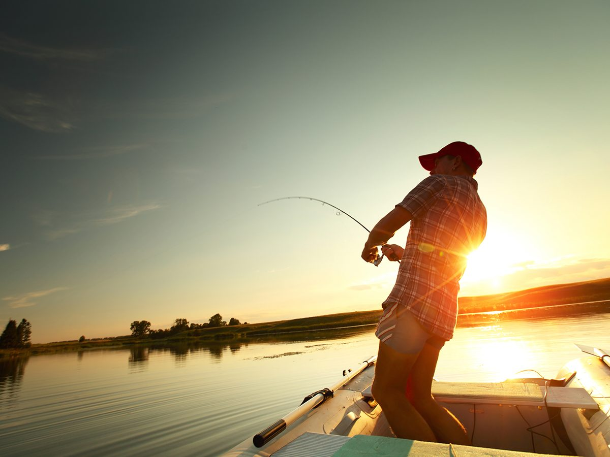 Canada Day activities - rent a fishing boat