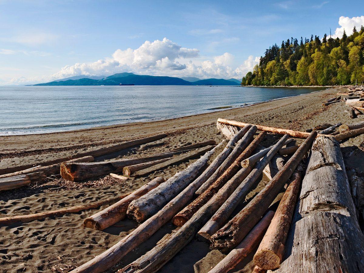 Pacific coast of Canada