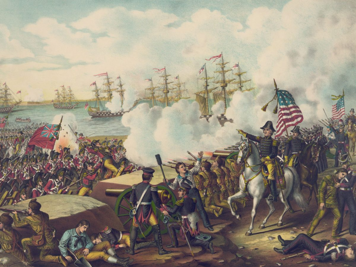Painting of the War of 1812