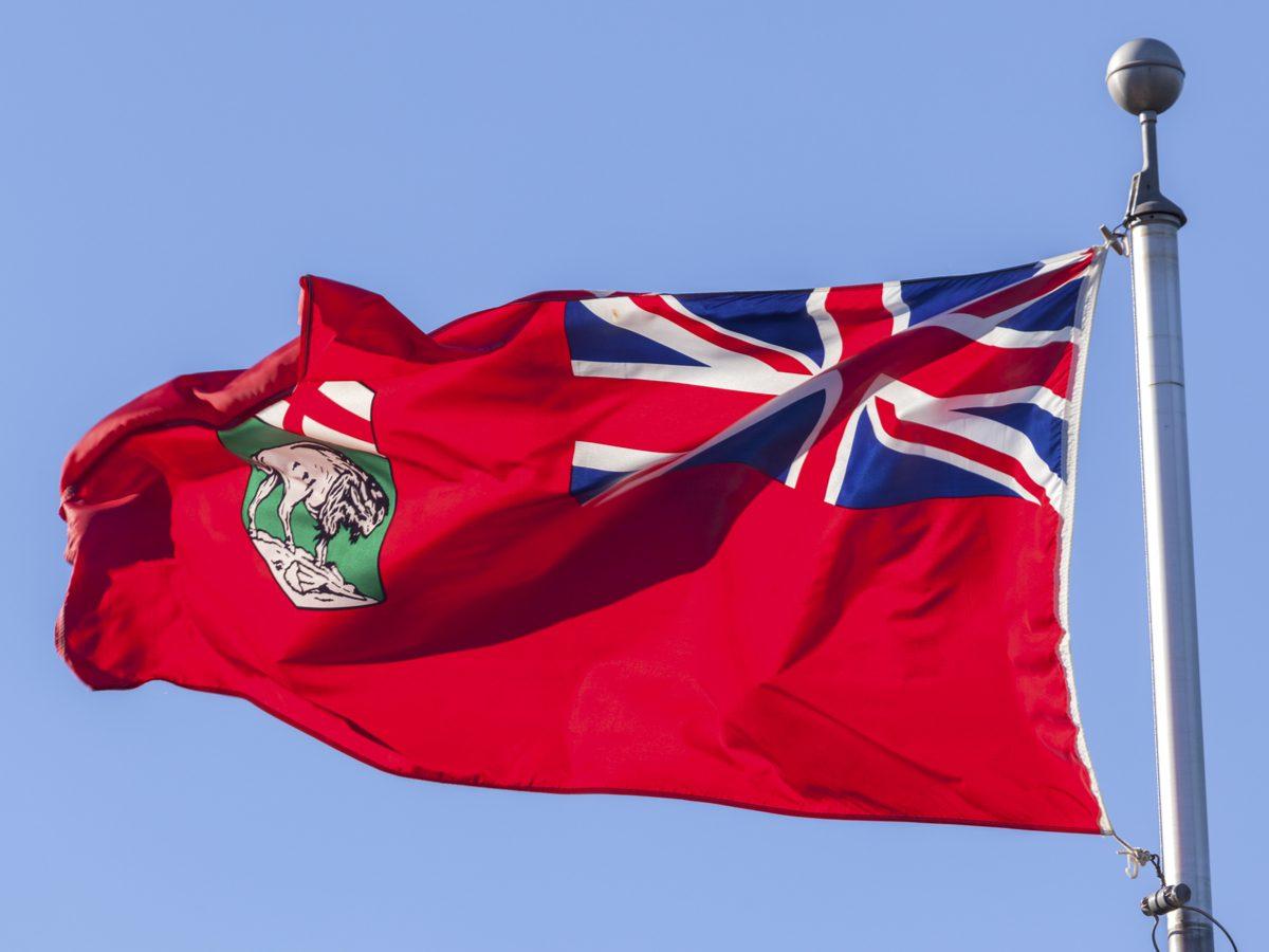 Manitoba official flag
