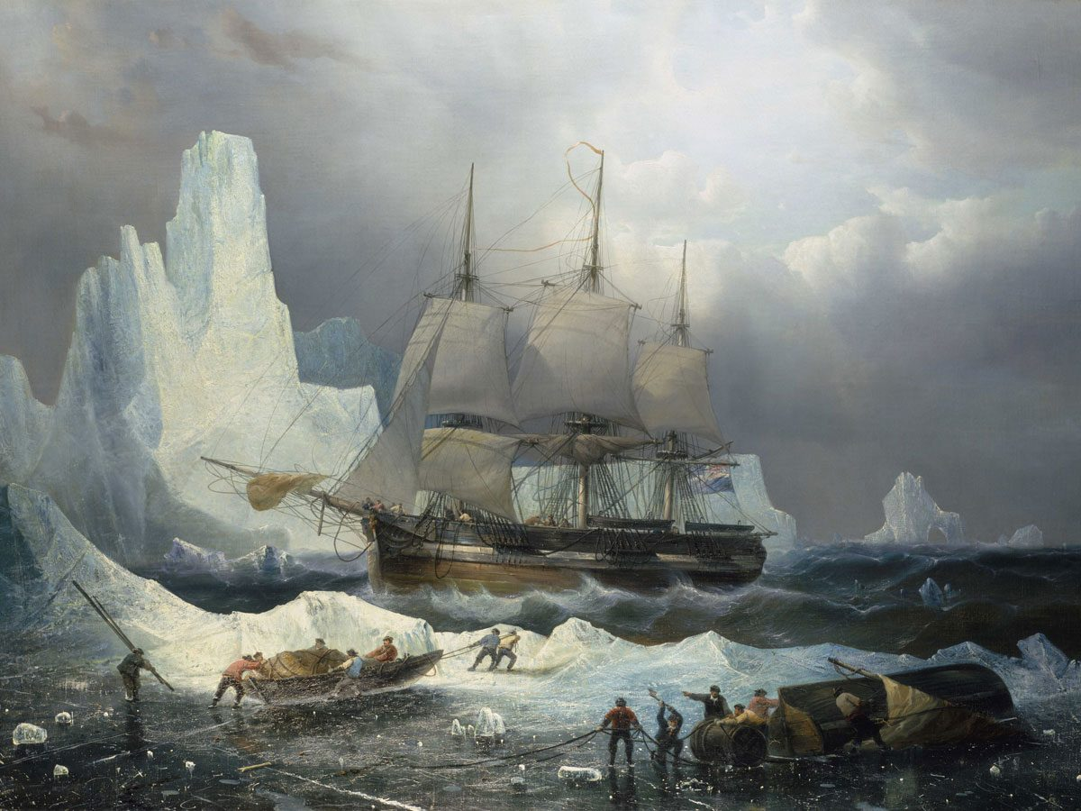 HMS Erebus and Terror